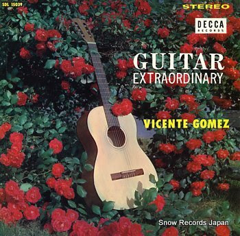 GOMEZ, VICENT guitar extraordinary
