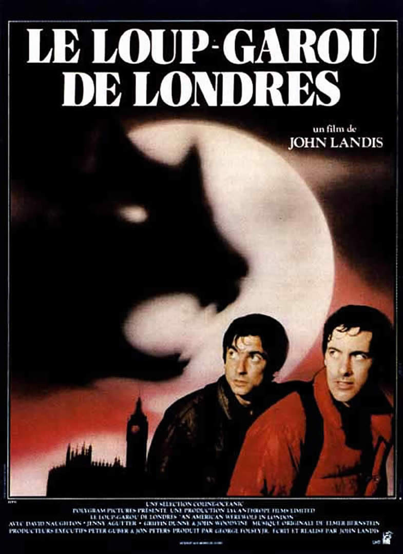 An American Werewolf In London French Movie Posters
