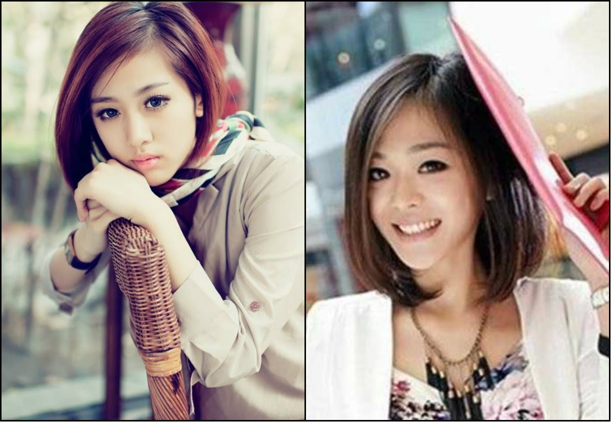 Asian Short Bob Hairstyles Amp Street Style Looks Long Hairstyles