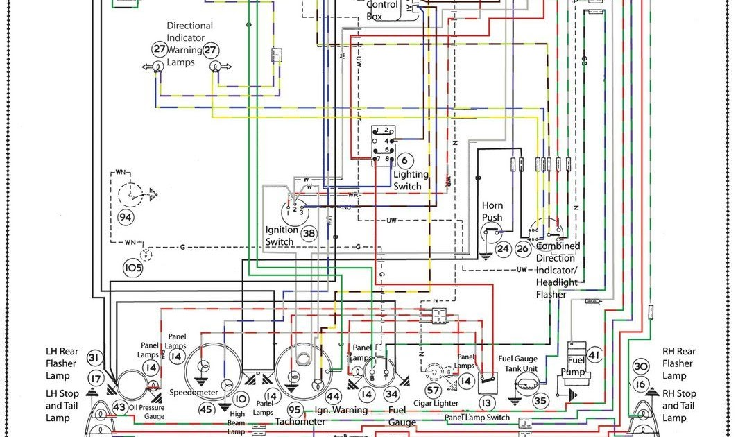 71 Mustang Wiring Diagram Schematic