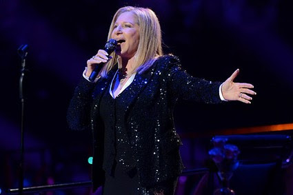 Singer Barbra Streisand kicks off her concerts at the Barclays Center in the Brooklyn borough of New York, on Thursday Oct. 11, 2012.