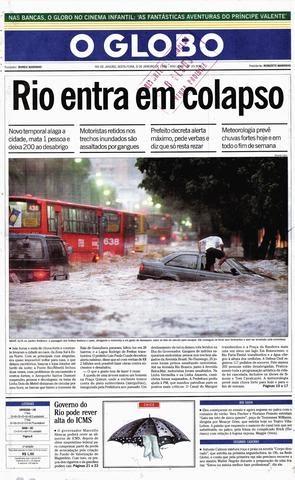 O colapso do Rio