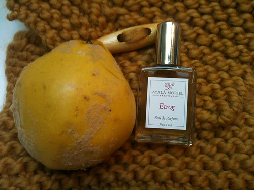 Etrog Perfume + Quince Fruit by Ayala Moriel