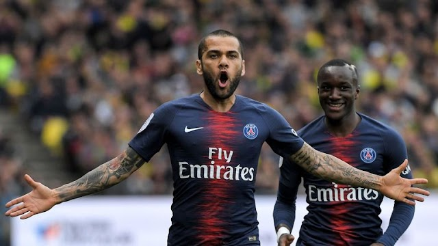 Dani Alves to leave Paris Saint-Germain