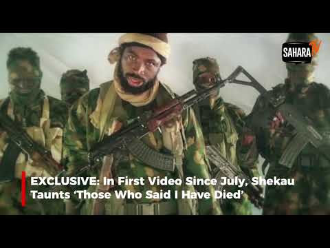 Boko Haram Leader, Shekau Releases New Video, Mocks Those Who Said He Is Dead (Watch)