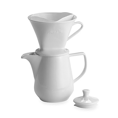 Melitta® Pour Over 6-Cup Porcelain Coffee Maker - Bed Bath & Beyond
