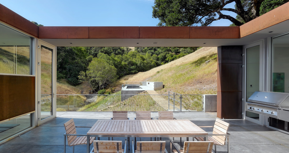 Bridge-House, Natoma-Architects, Architecture, Design, House, Interiors