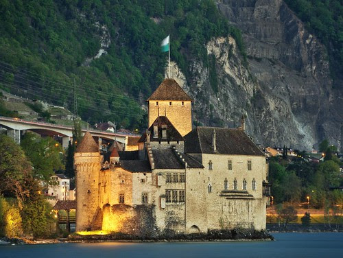 Château de Chillon, Montreux, Switzerland. by ayush.bhandari