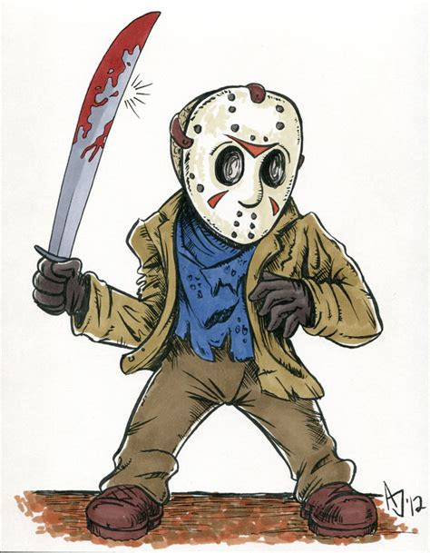 jason voorhees anime pictures  pin  pinterest pinsdaddy