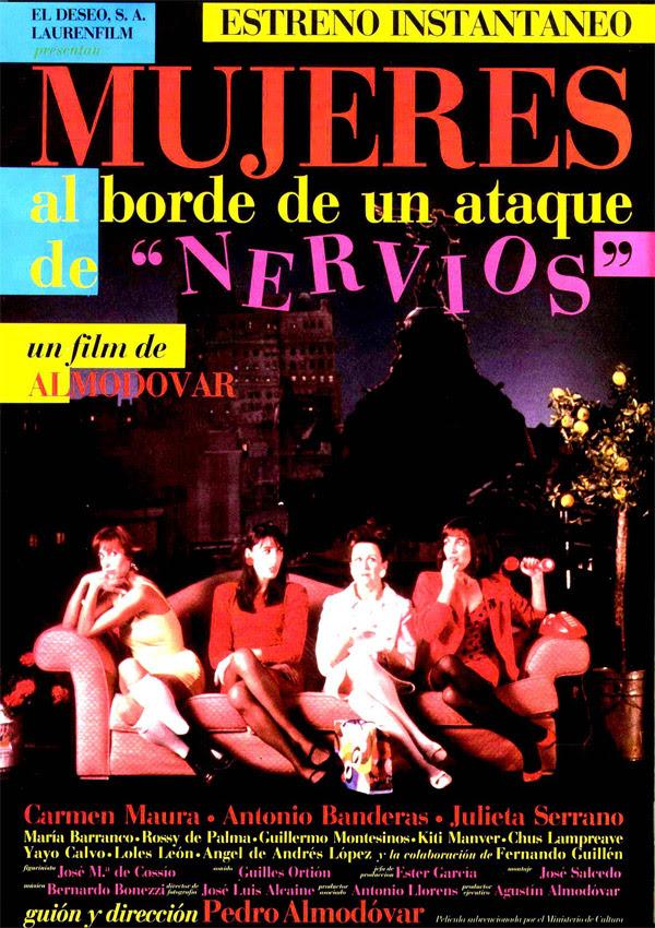 Mujeres al borde de un ataque de nervios (Pedro Almodóvar, 1.988)