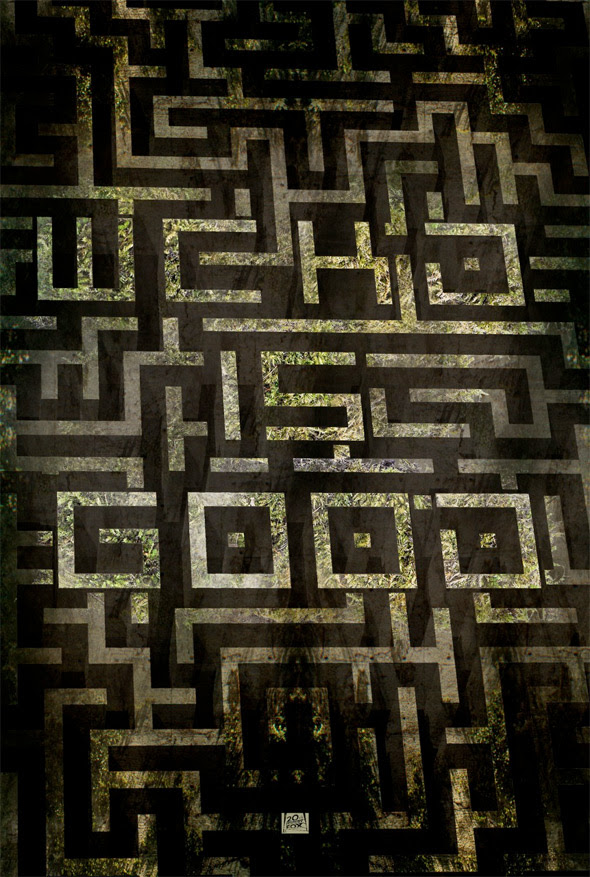 Check Out This Set of Stylish Alternate Posters for 'The Maze Runner'  FirstShowing.net