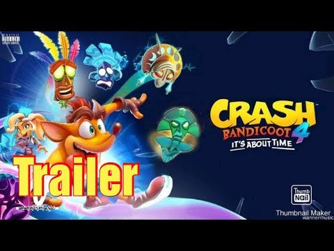 Crash Bandicoot 4 Novo Trailer mostra detalhes do Jogo