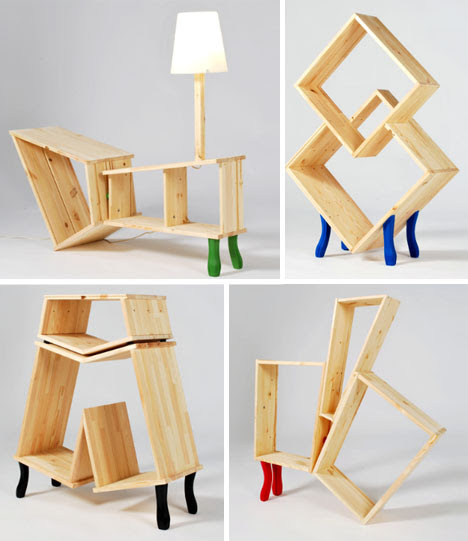 hacked insane wood furniture