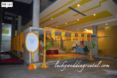 Name Boards Decorations   On Rent   Lucky Wedding Rental