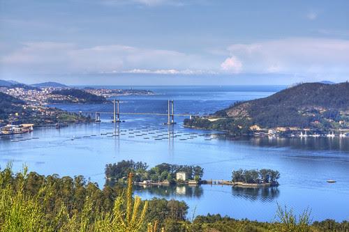 Ria de Vigo desde A Peneda_HDR