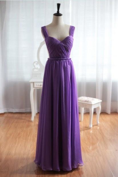 pretty purple elegant handmade sweetheart open back prom