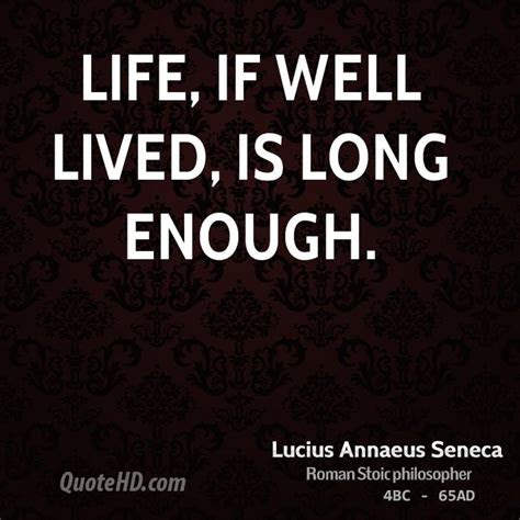 Life Well Lived Quotes