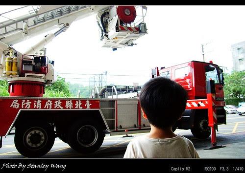 消防隊 雲梯車