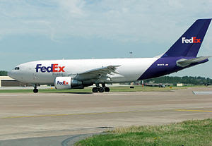 FedEx A310 and A300 cargo aircraft fly daily f...