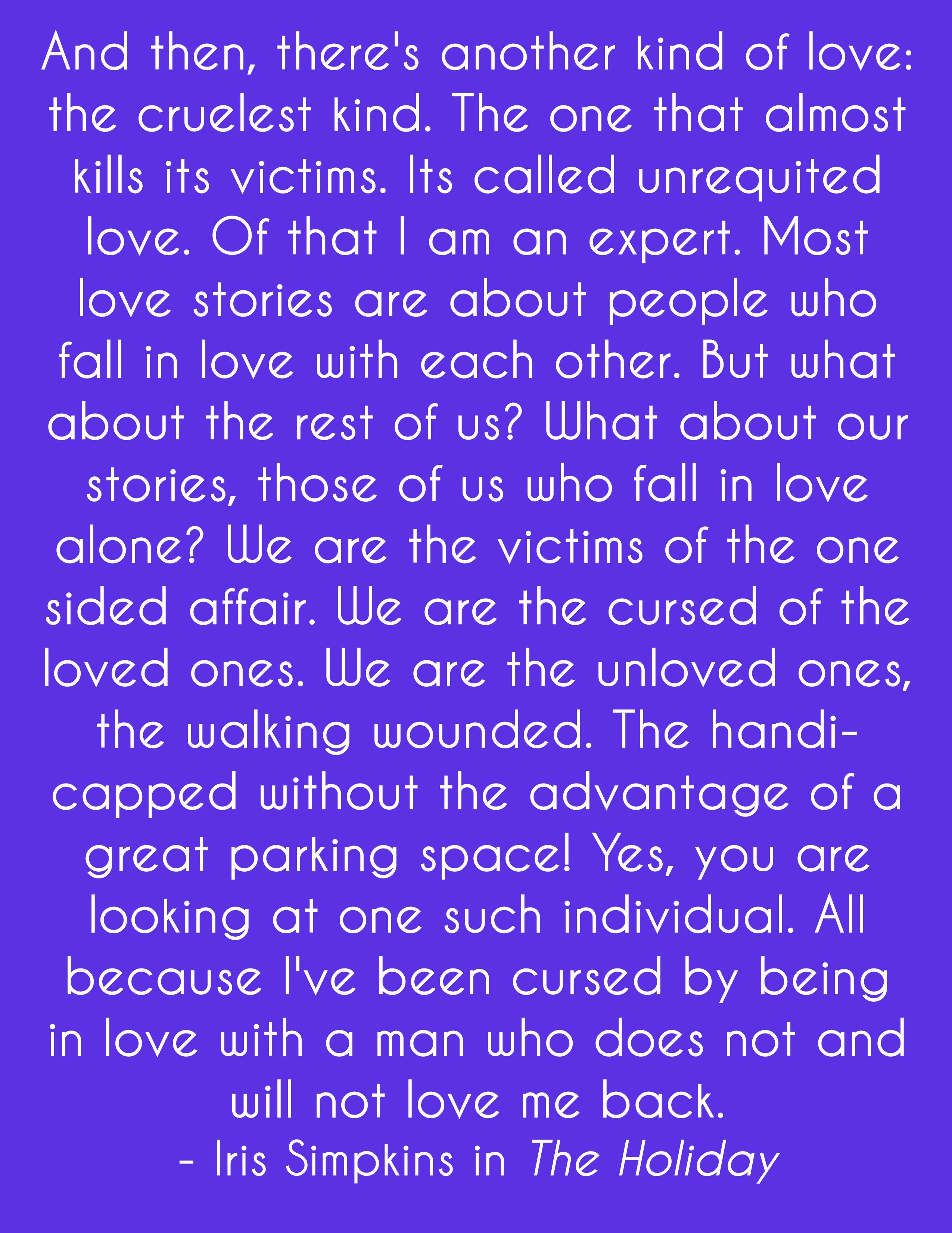 Unrequited love . . . | quotes for life | Pinterest