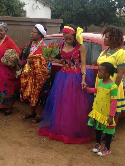 2017 tsonga traditional wedding dresses top   Fashion 2D