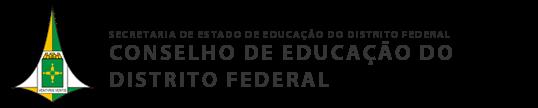 Resultado de imagem para Conselho de Educação do Distrito Federal
