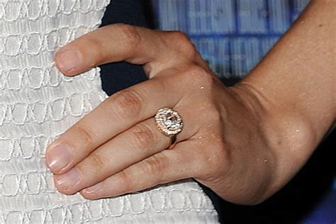 Top 10 celebrity engagement rings of 2015   Wedding Journal