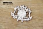 Royal dekor z zegarem / clock