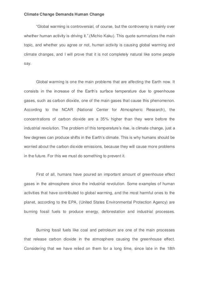 C Oyarce Mackay Esu Essay Climate Change Demands Human