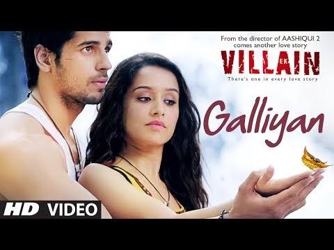 galiyan video and lyrics ek villain song ankit tiwari