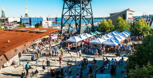 An eight-week food and music festival is launching in North Vancouver's Shipyards | Dished