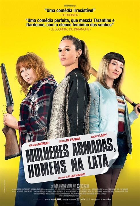 Mulheres Armadas, Homens na Lata : Poster