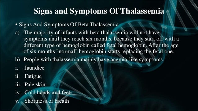 Image result for thalassemia symptoms