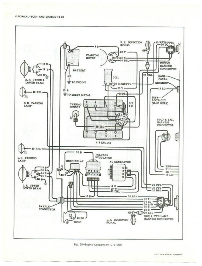 1965 Gmc Wiring Diagram