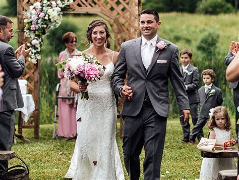 Groom?s Family Releases Butterflies During Wedding To