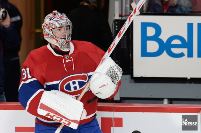 Carey Price est absent depuis la rencontre du 29... (PHOTO BERNARD BRAULT, ARCHIVES LA PRESSE)
