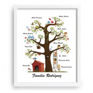 Arbol Familiar Infantil Sweety
