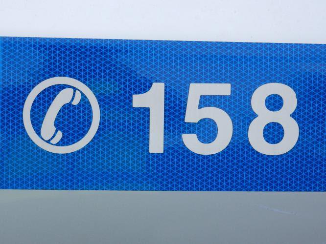158 na autě