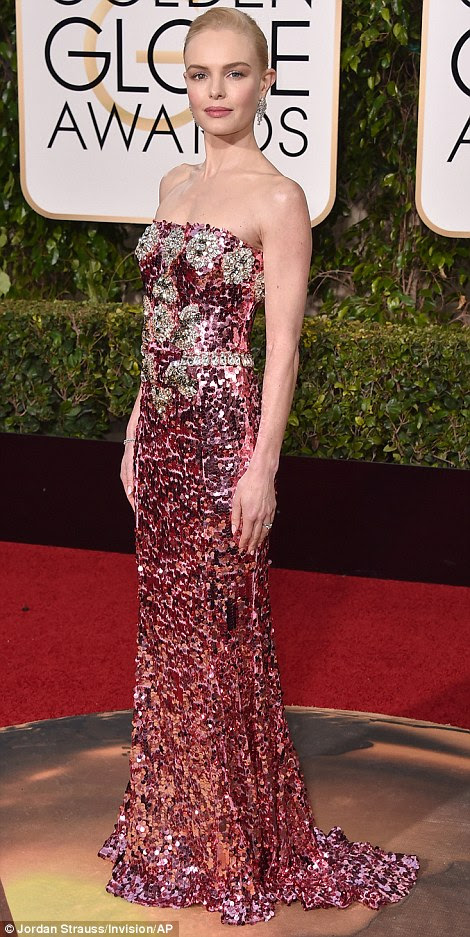 Globurile de aur Kate Bosworth in Dolce & Gabanna