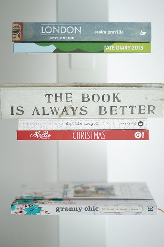 the book is always better by wood & wool stool