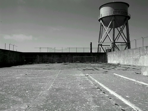 The Yard, Alcatraz by Noladishu