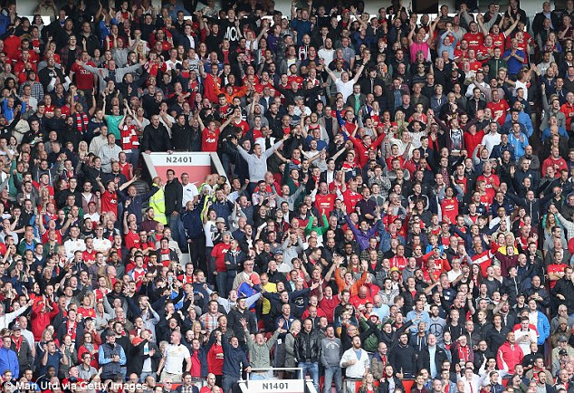 Manchester United fans have been crowned the noisiest when following their team away from home
