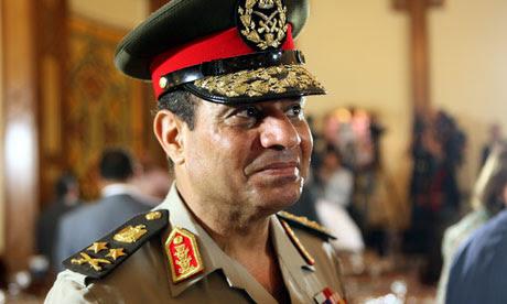 Egyptian Minister of Defense Abdel-Fattah al-Sissi