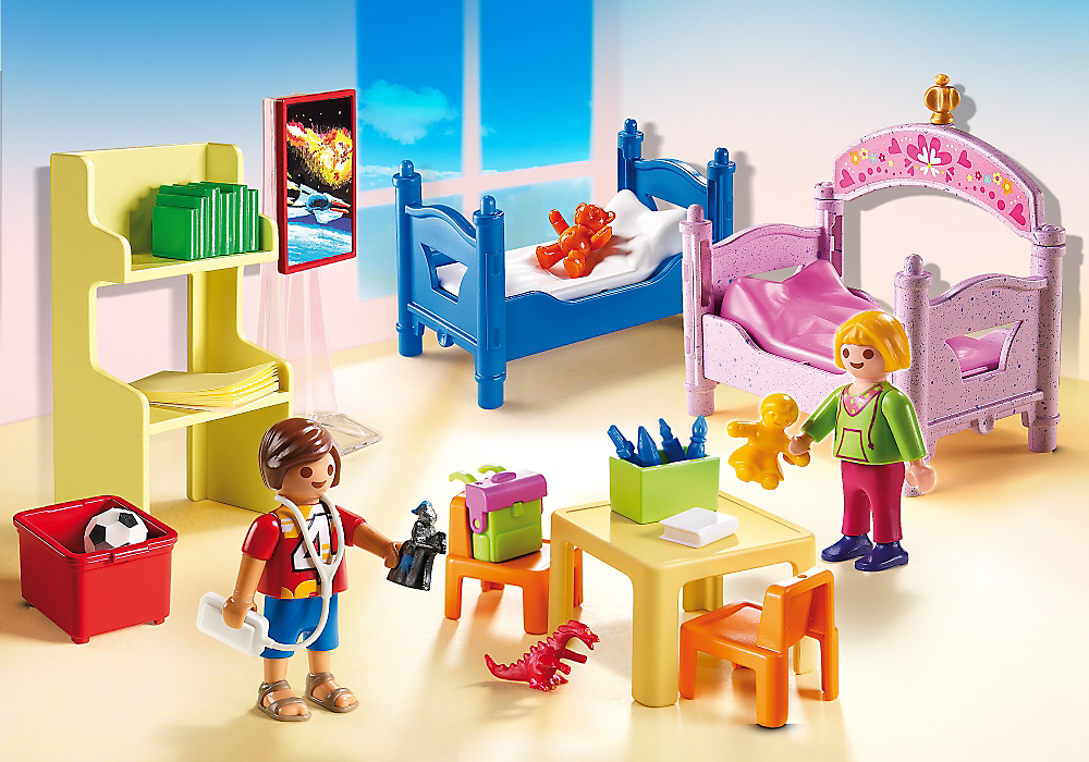 New Playmobil Children's Room