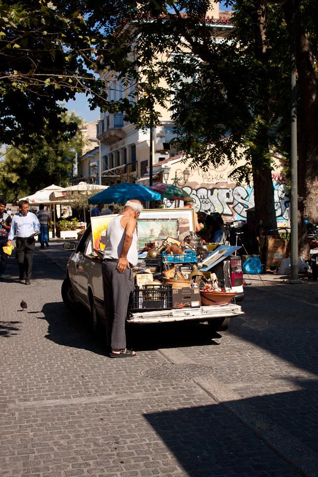 flea market athens