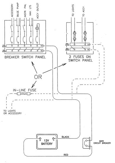 Basic Boat Wiring Diagram | Bass Boat Wiring Diagram General |  | Fuse Wiring
