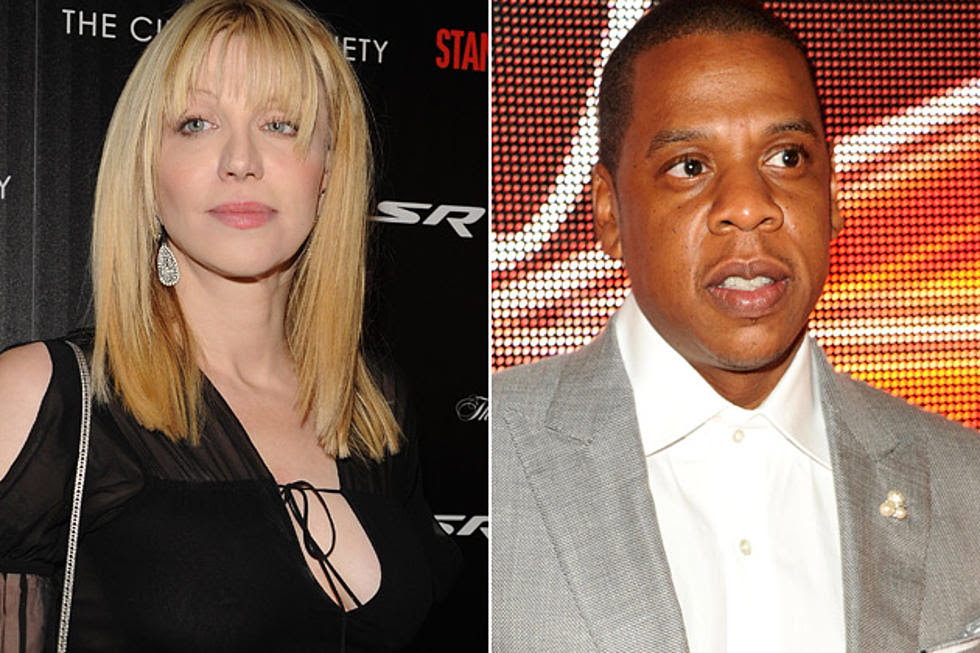 News Bits Courtney Love Lets Jay Z Quote Nirvana Nin Work With