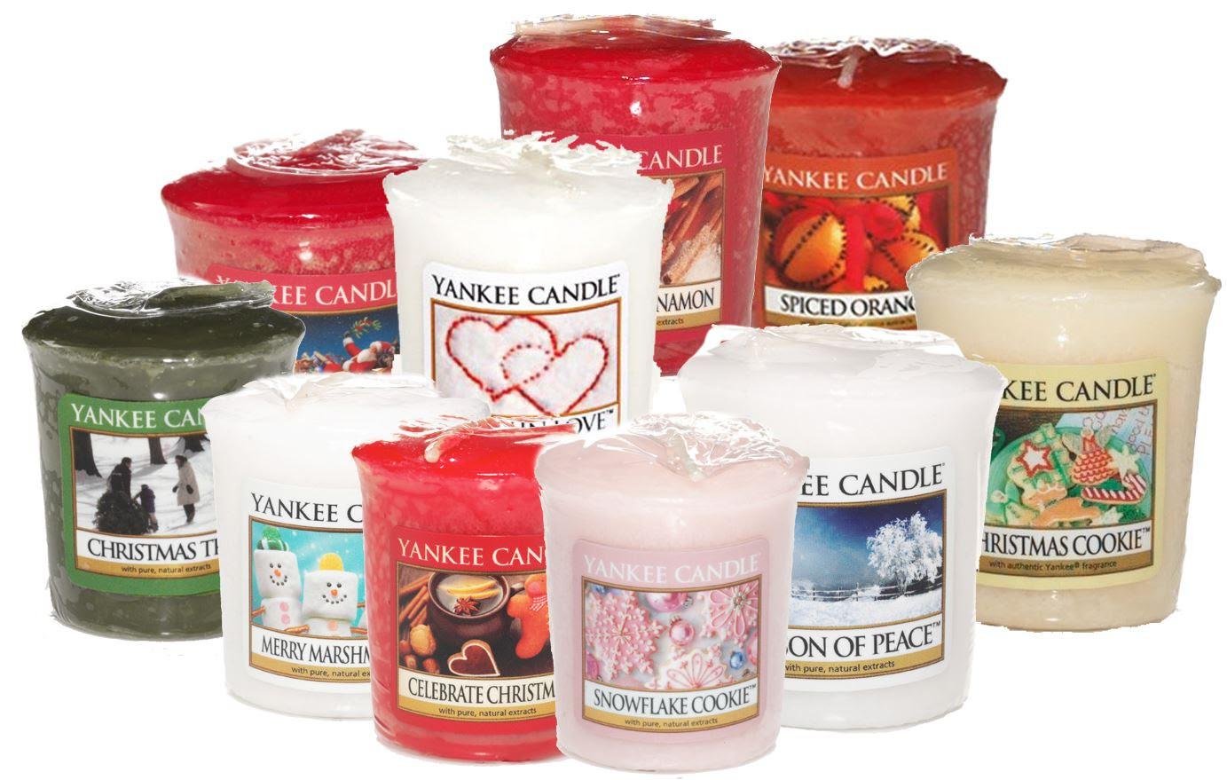 Yankee Candle Festive Fragrances Votive Christmas Sampler ...