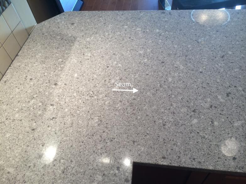 Slab Granite Countertops Seams On