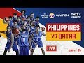 WATCH LIVE: Gilas Pilipinas vs. Qatar at 7:00 PM 17 September 2018. (FIBA World Cup Qualifiers)